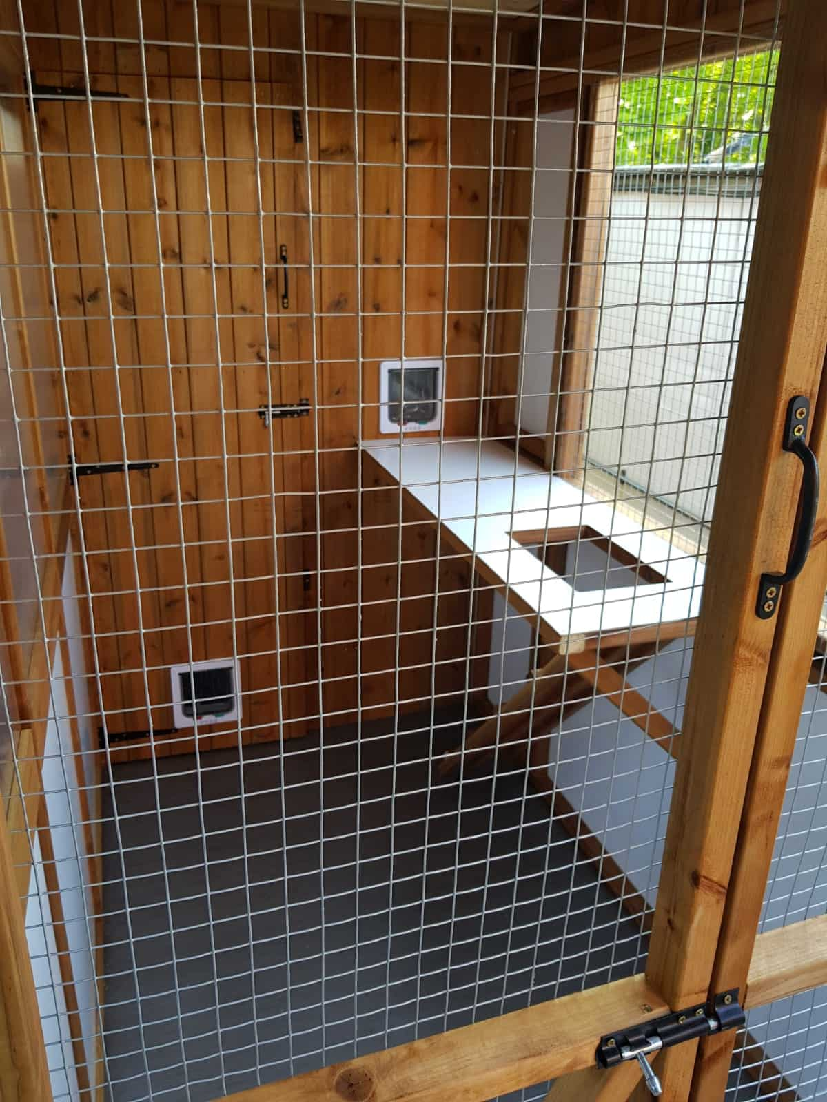 Commercial Cattery Prestige Pet Homes Experienced