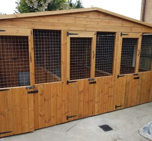 Handcrafted Dog Kennels